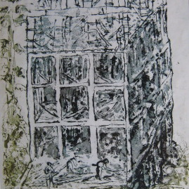 Crecimiento, 1974. 49 x 32 cm