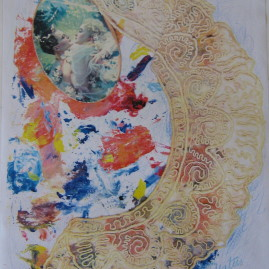 El arco de la felicidad, 2003. Copia directa, 43 x 30 cm