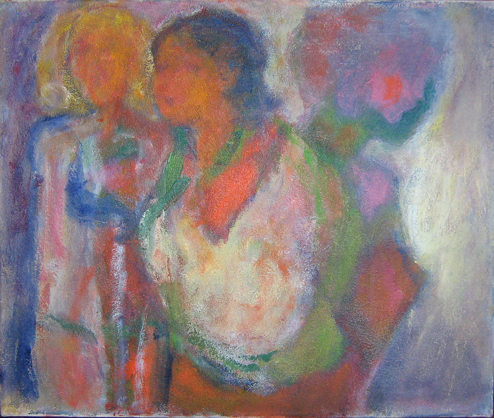 Mujeres 2007 acr lico sobre lienzo 50 x 60 cm - Acrilico sobre lienzo ...