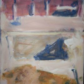 Construcción I, Acrílico sobre lienzo 40 x 30 cm